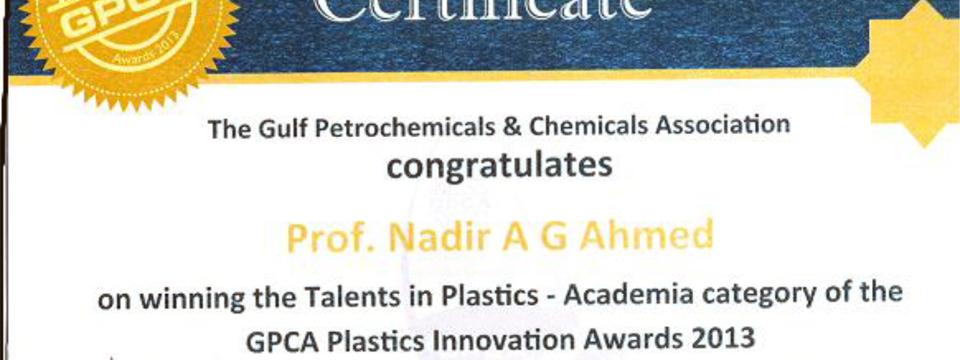 GPCA award